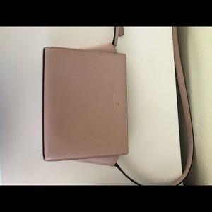 Light pink crossbody Kate Spade purse